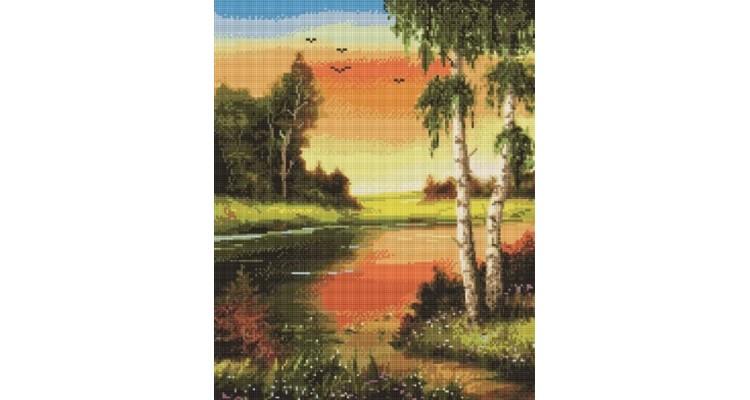 Алмазная мозаика РОДНЫЕ ПРОСТОРЫ gf948